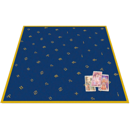 tapis de divination symbole astrologie. Black Bedroom Furniture Sets. Home Design Ideas