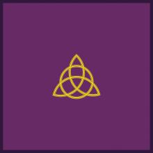 Tapis de divination - Triquetra