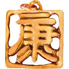 Pendentif Feng-shui Caractère de la santé