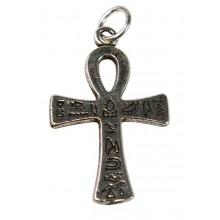 Talisman Croix d'Ankh argenté