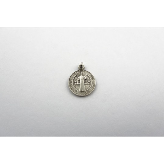 Médaille argentée de Saint Benoît