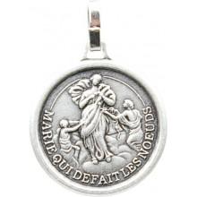 Médaille argentée de Marie qui défait les noeuds