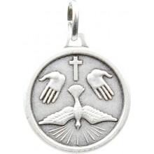 Médaille argentée du Saint Esprit