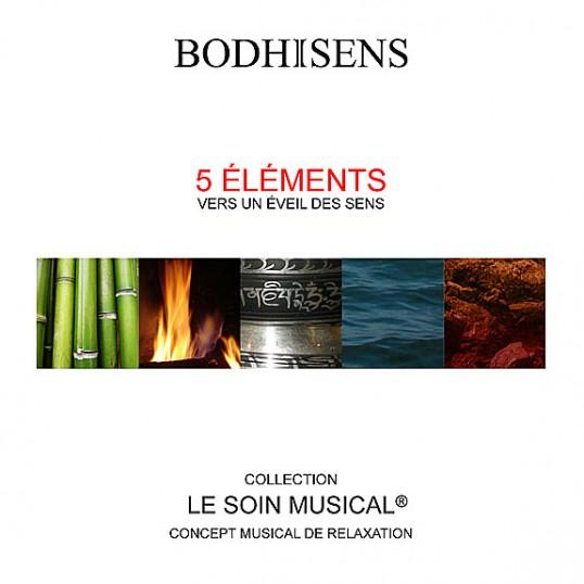 CD - Cinq éléments - le soin musical