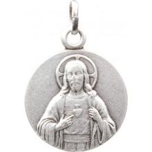 Médaille argentée de Jésus Christ