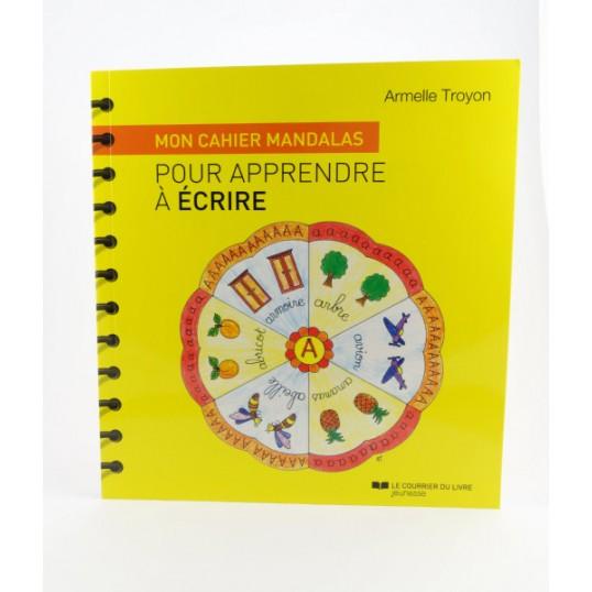Mon cahier mandala pour apprendre à écrire