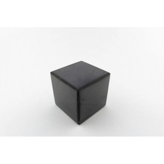 Shungite - Cube poli 6 cm
