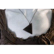 Shungite - Pendentif Triangle homme