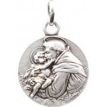 Médaille argentée de Saint Antoine