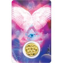 Carte médaille - Archange Gabriel