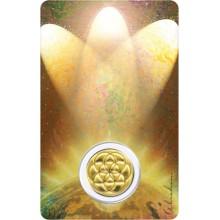 Carte médaille - Archange Sandalphon