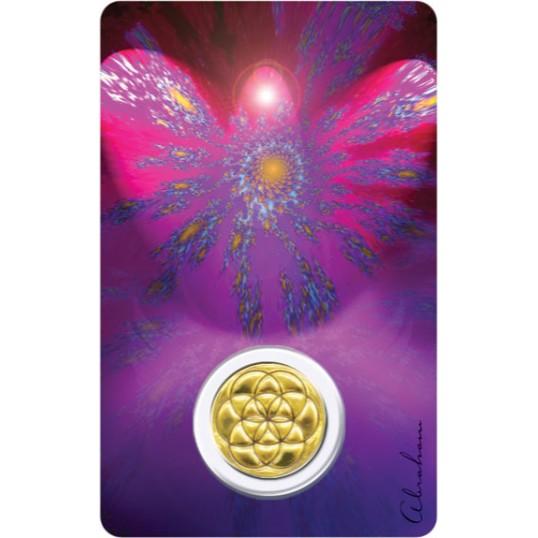 Carte médaille - Archange Uriel