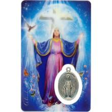 Carte médaille - Sainte-Marie