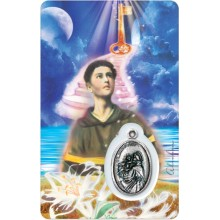 Carte médaille - Saint Antoine
