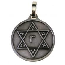 Médaille sceau de Salomon - argenté