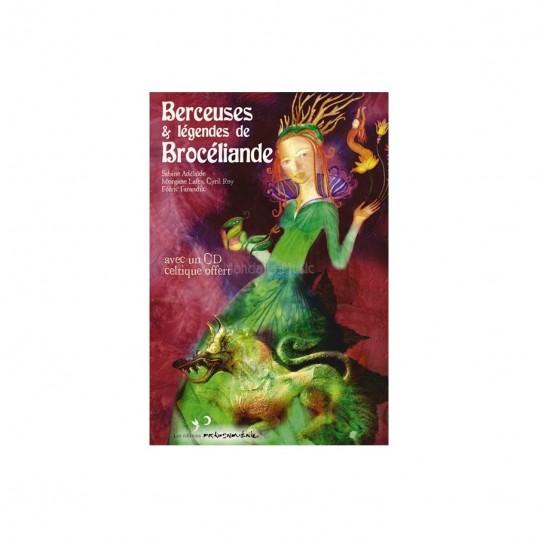"""Coffret livre + CD Berceuses """"Légendes de Brocéliande"""""""