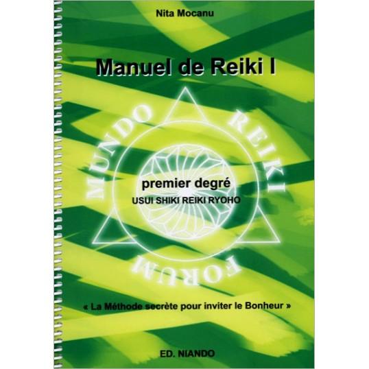 Livre - Manuel de Reiki 1er degré