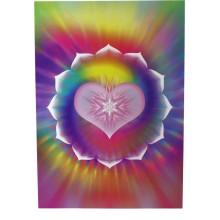 Carte vibratoire - coeur de lotus