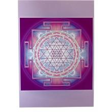 Carte vibratoire - Shri Yantra