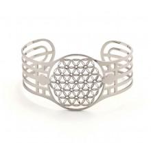 Bracelet - Fleur de vie avec cristaux Swarovski