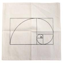 Tapis géométrie sacrée - Spirale d'Or