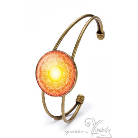 Bracelet Yandala - douce chaleur - laiton vieilli