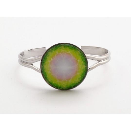 Bracelet Yandala - La vie est un cadeau - finition Rhodium