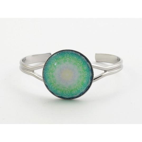 Bracelet Yandala - Les miracles se produisent - finition Rhodium