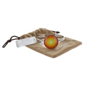Bracelet Yandala -  douce chaleur - finition Rhodium