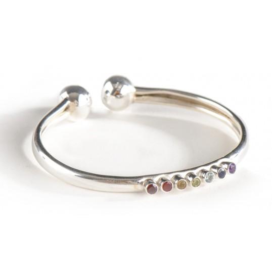 Bracelet souple - 7 chakras