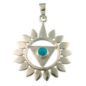 Médaille - 5ème chakra - Vishuddha