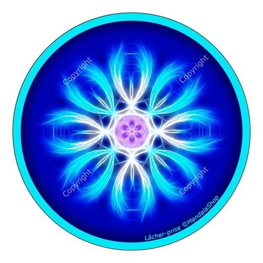 Disque harmonisant - Mandala lâcher-prise