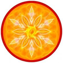 Disque harmonisant - Mandala Feu