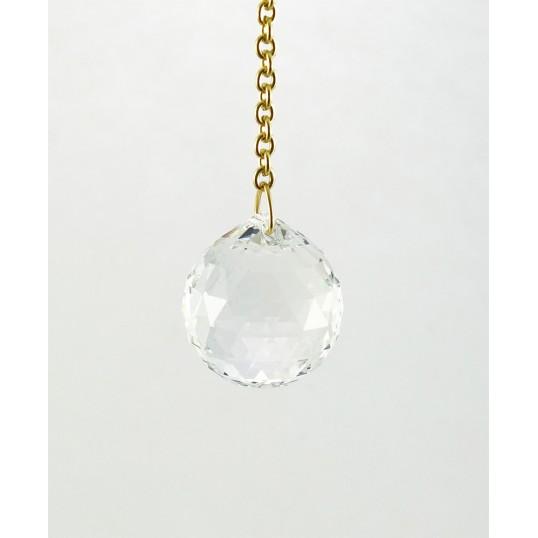 Pendule - boule cristal Swarovski