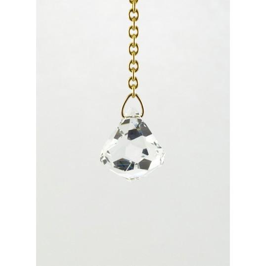 "Pendule - ""Diamant"" cristal Swarovski"