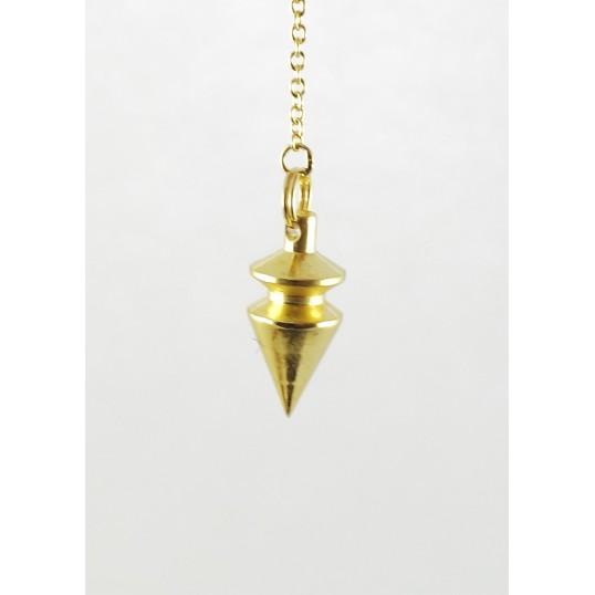 Pendule - Triangle - laiton doré