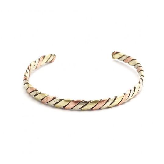 Bracelet - 3 métaux