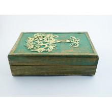 Boîte rangement - arbre de vie céltique