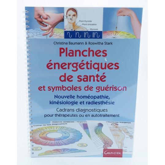 Livre - Planches énergétiques de santé et symboles de guérison