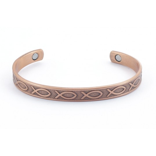 Bracelet - cuivre 2 en 1 - Faith