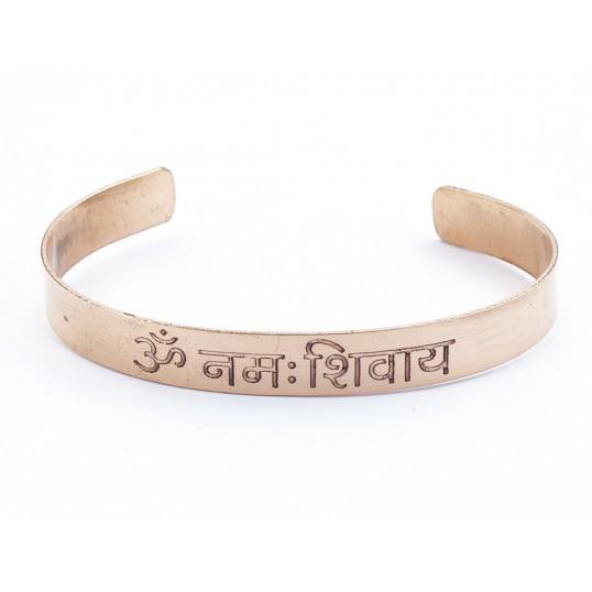 Bracelet - cuivre - Mantra