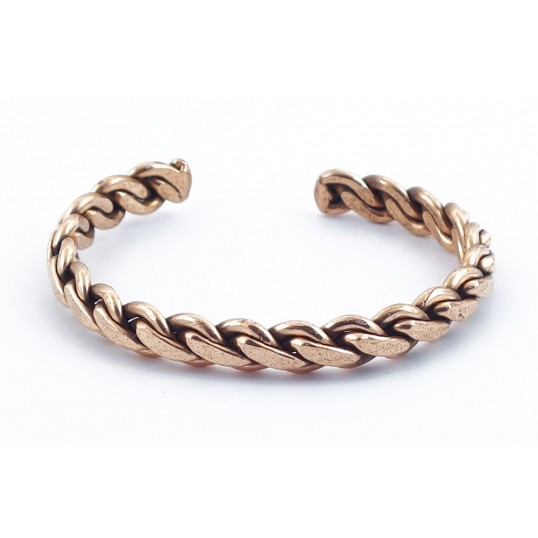 Bracelet cuivre - tressé 2