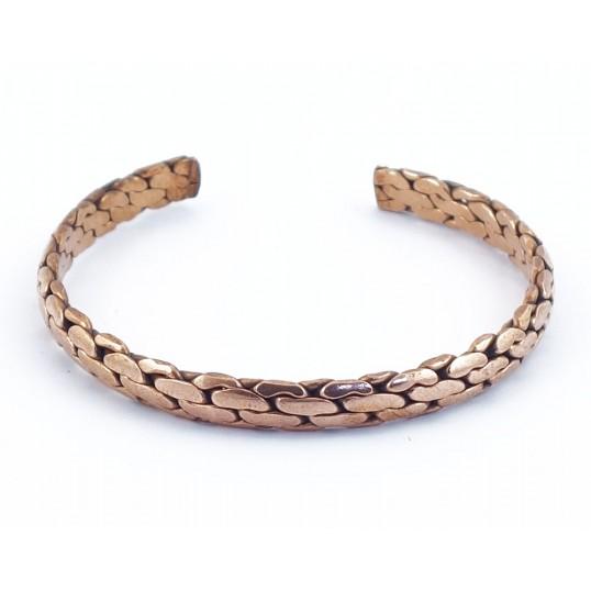 Bracelet cuivre - tressé 3