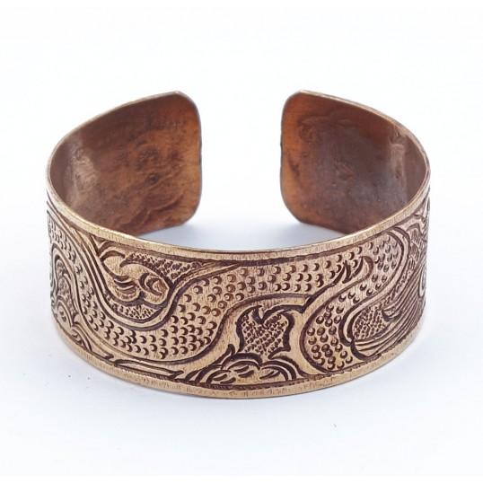 Bracelet cuivre - dragon