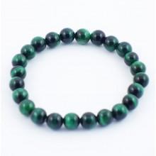 Bracelet perles 8mm - labradorite claire