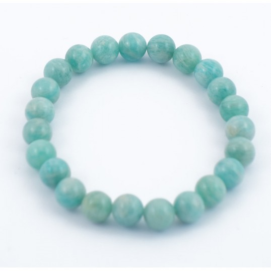 Bracelet perles 8mm - amazonite