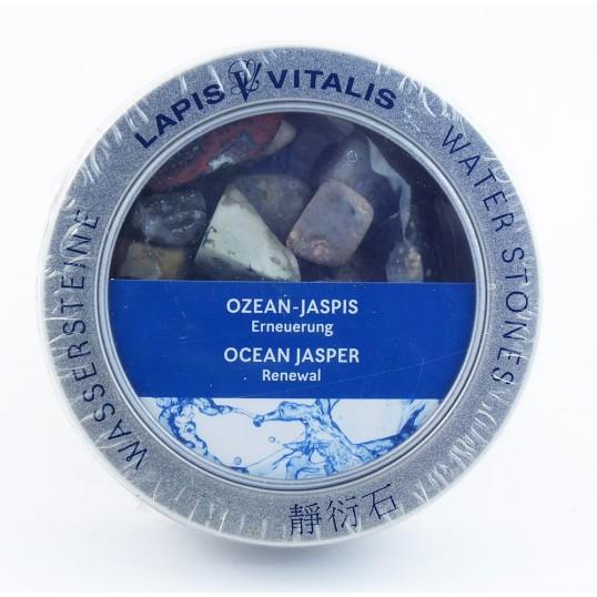Pierres pour l'eau - renouveau (jaspe océan)