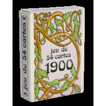Jeu de cartes 1900