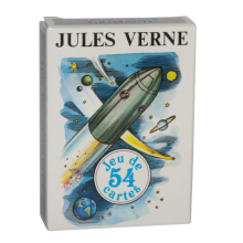 Jeu de cartes Jules Verne