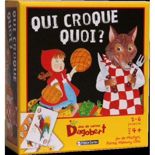 Dagobert - Qui croque quoi?